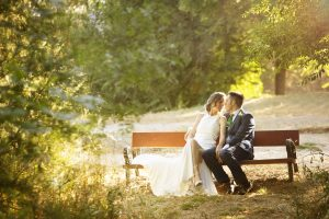 Fotografía de bodas. Novios.
