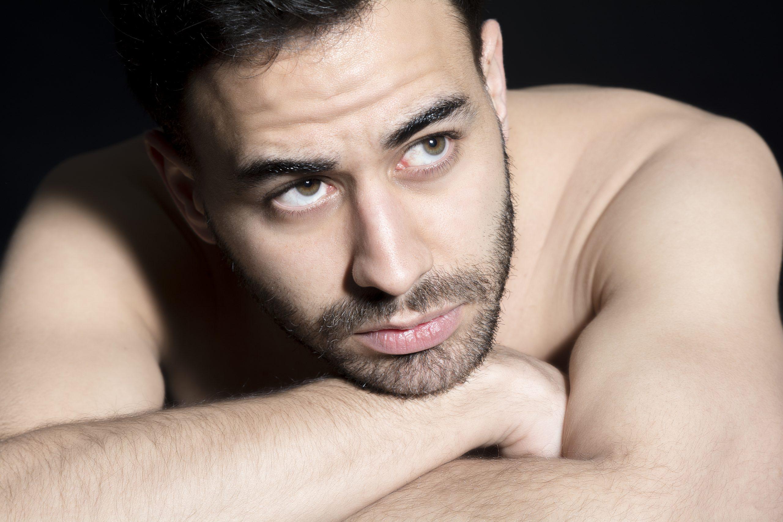 Retrato. Actor y modelo. Miguel Ángel Bellido